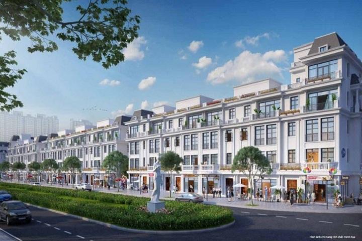 Shophouse Vinhomes Dan Phuong wonder park