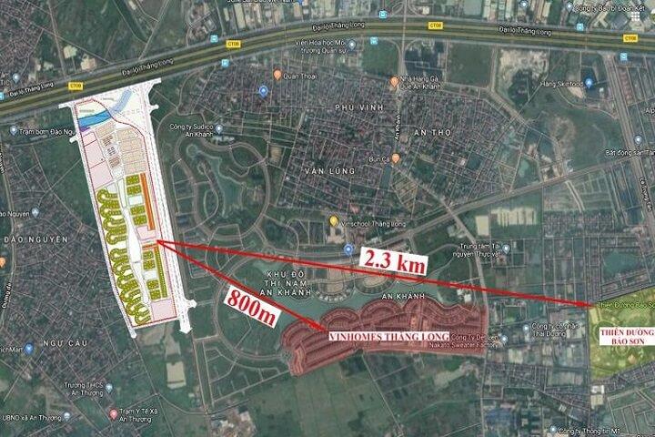 Vị trí quy hoạch dự án Hà Đô Charm Villas