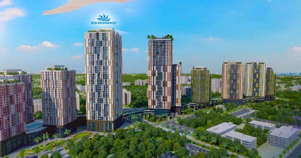 chung cu bid residence Văn Khê