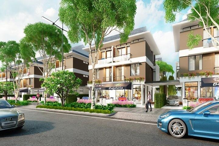Phối cảnh mẫu biệt thự An Phú Shop Villa Dương Nội