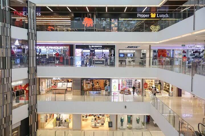 dự án Geleximco 897 Giải Phóng có 5 tầng trung tâm thương mại