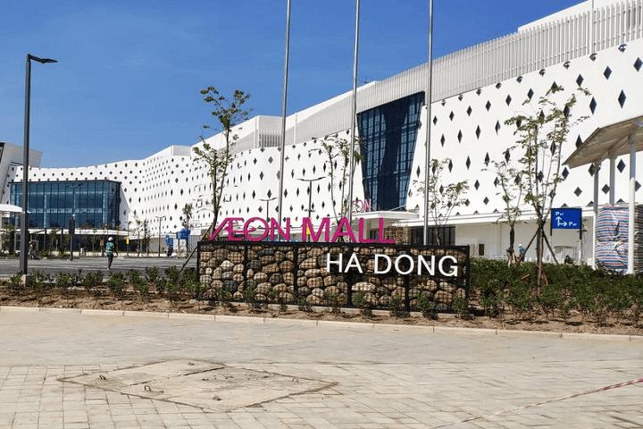 Trung tâm thương mại Aeon Mall Hà Đông đã đi vào hoạt động từ 26/11/2019