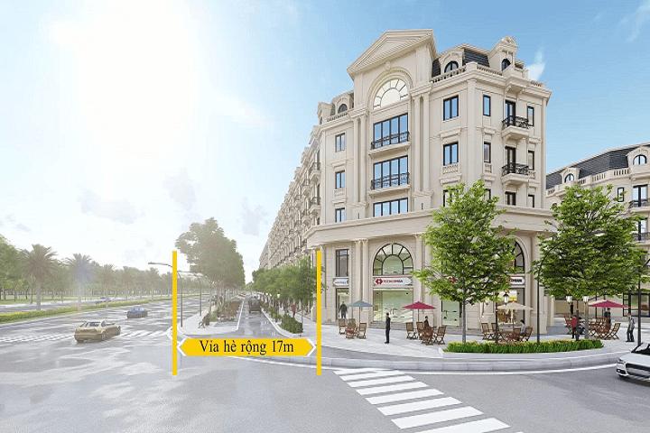 Shophouse dự án Kiến Hưng Luxury