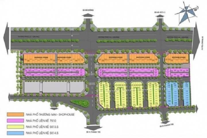 Mặt bằng dự án Kiến Hưng Luxury Hà Đông