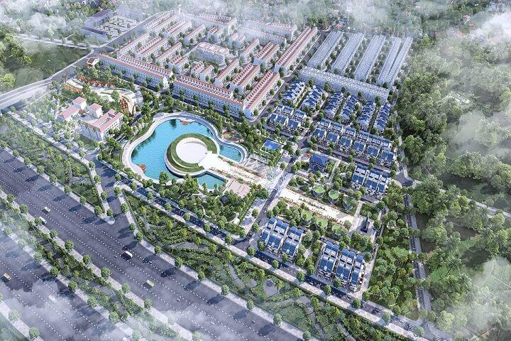phối cảnh dự án sol lake villa đô nghĩa nam cường