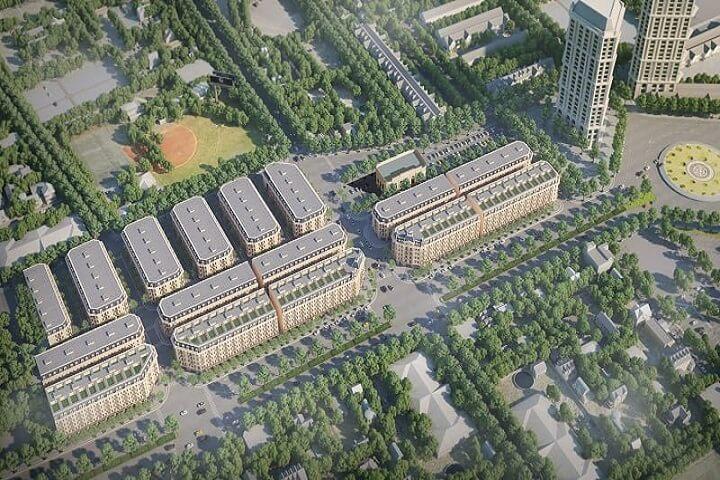 Phối cảnh tổng quan dự án Kiến Hưng Luxury Hà Đông