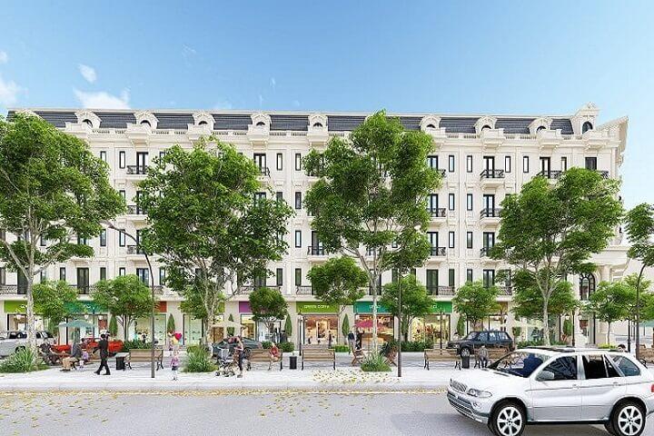 Phối cảnh Shophouse Kiến Hưng Luxury Hà Đông