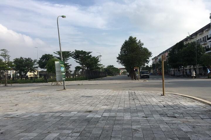 Tiến độ thực tế khu biệt thự Sol Lake Villa Nam Cường Dương Nội