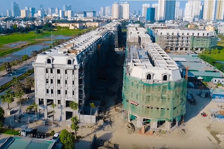 Cập nhật tiến độ dự án Kiến Hưng Luxury Hà Đông