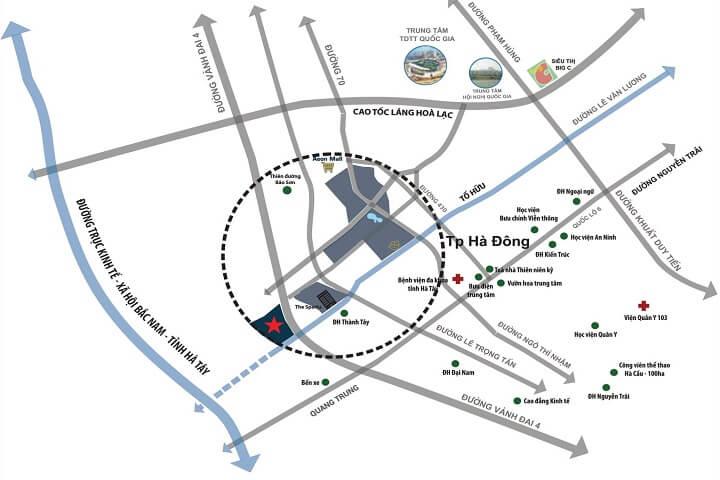 Vị trí quy hoạch dự án Sol Lake Villa Đô Nghĩa