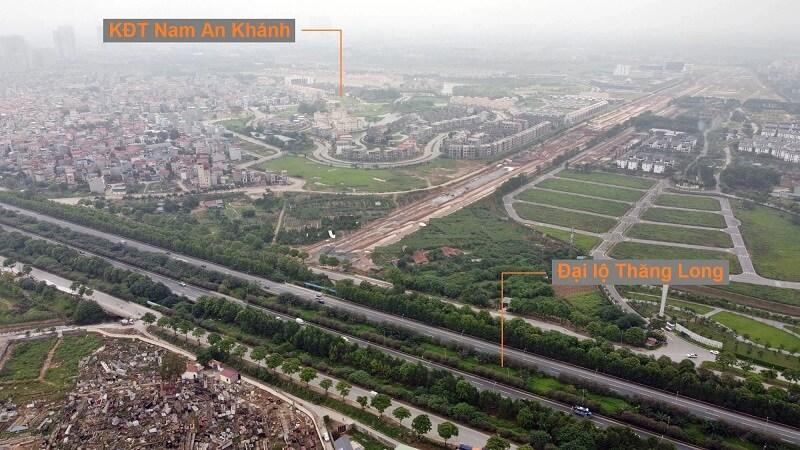 Toàn cảnh quy hoạch tuyến đường Liên khu 8 Hoài Đức